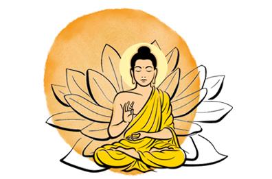 Grafik Buddha Lotus