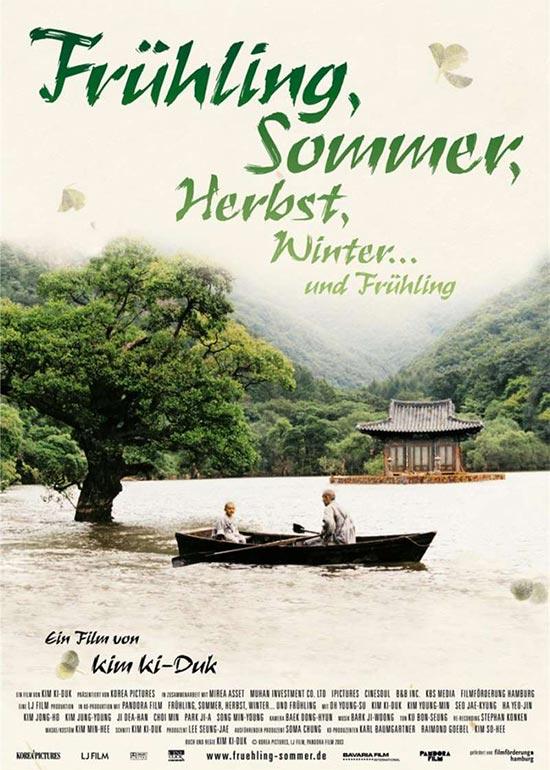 Filmcover Frühling, Sommer, Herbst, Winter und Frühling