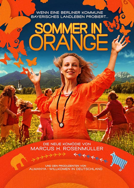 Filmcover Sommer in Orange