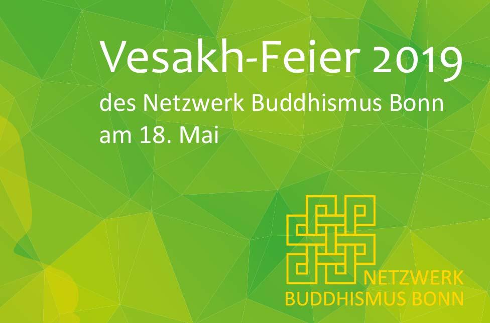 Flyer Vesakh Feier Mai 2019